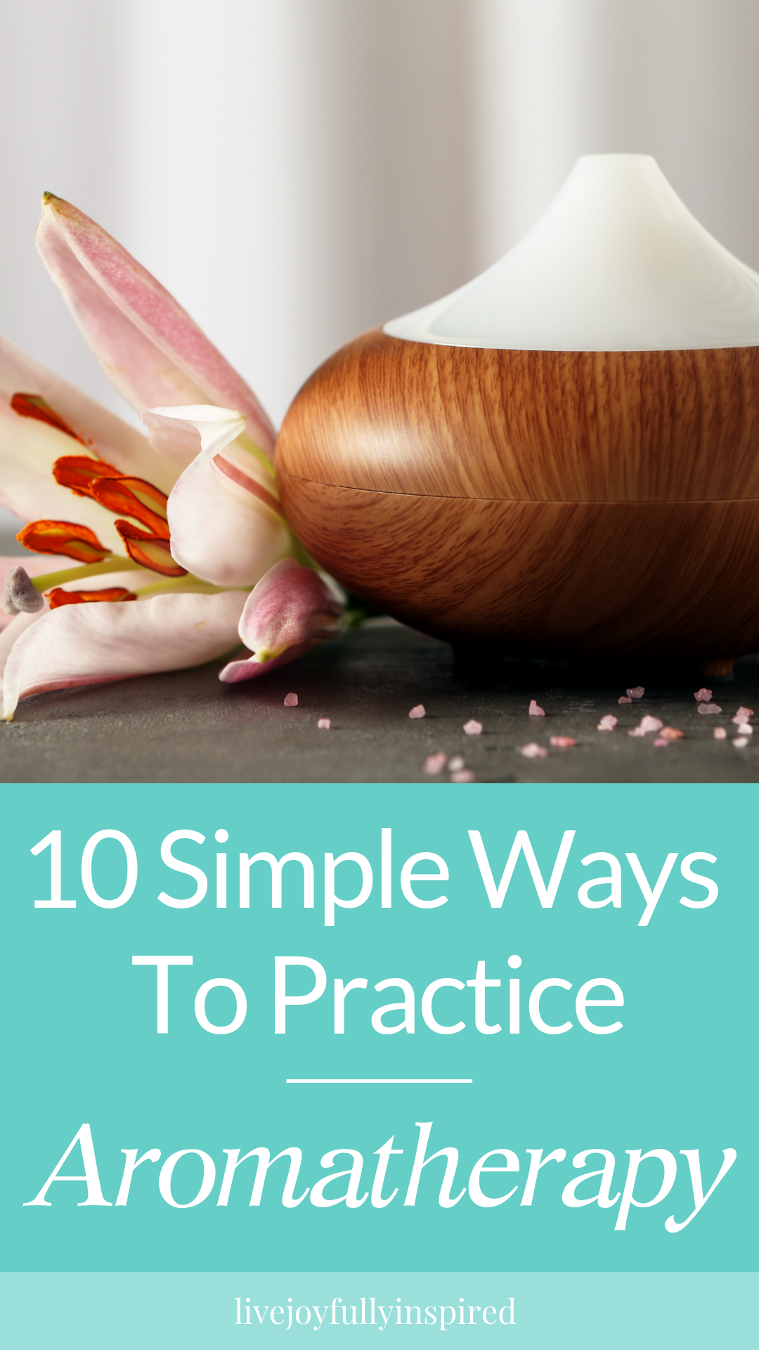10 simple ways to practice aromatherapy. Many people view relaxation and aromatherapy as just lighting candles or incense and possibly throwing on some soft music. While this may be true, aromatherapy is comprised of much more. #aromatherapy #relax #essentialoils