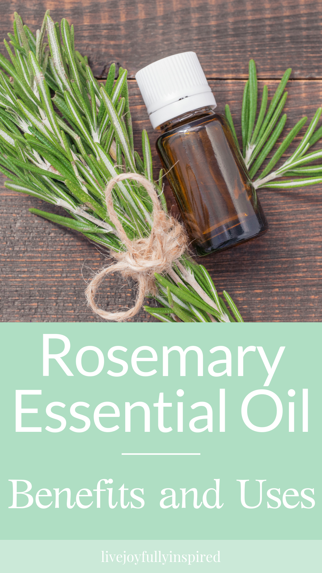 Rosemary Essential Oil. Rosemary is such a beautiful and aromatic herb. Used in cooking and as an essential oil, it's a remarkable plant. It's got a fresh, clean scent that's energizing, and uplifting bringing a smile to your face. #rosemary #essentialoil #uplift