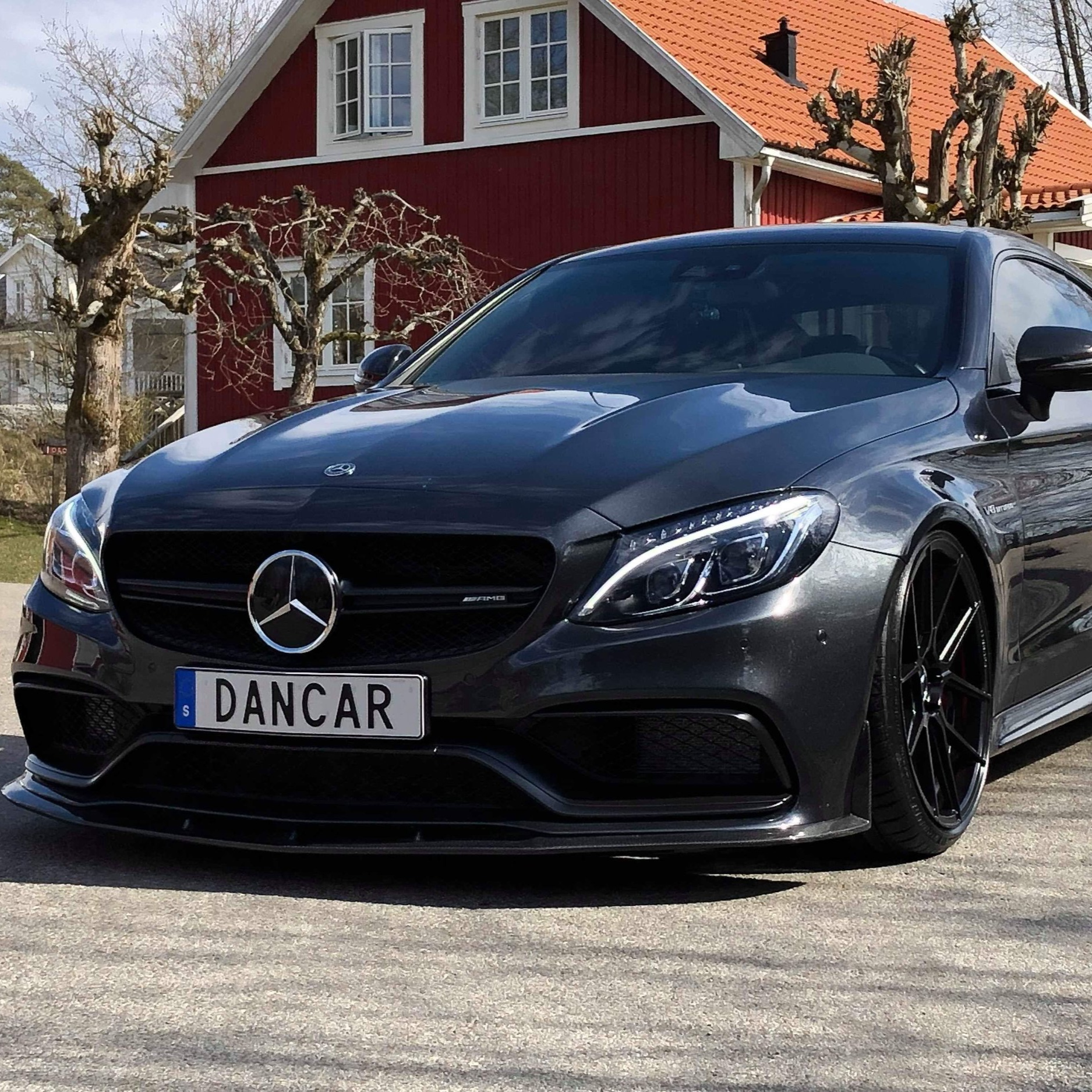 MERCEDES C63 S AMG COUPE -