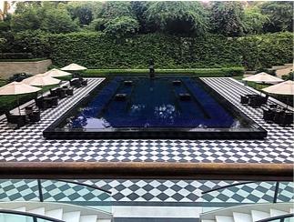Rebecca's pic of the pool