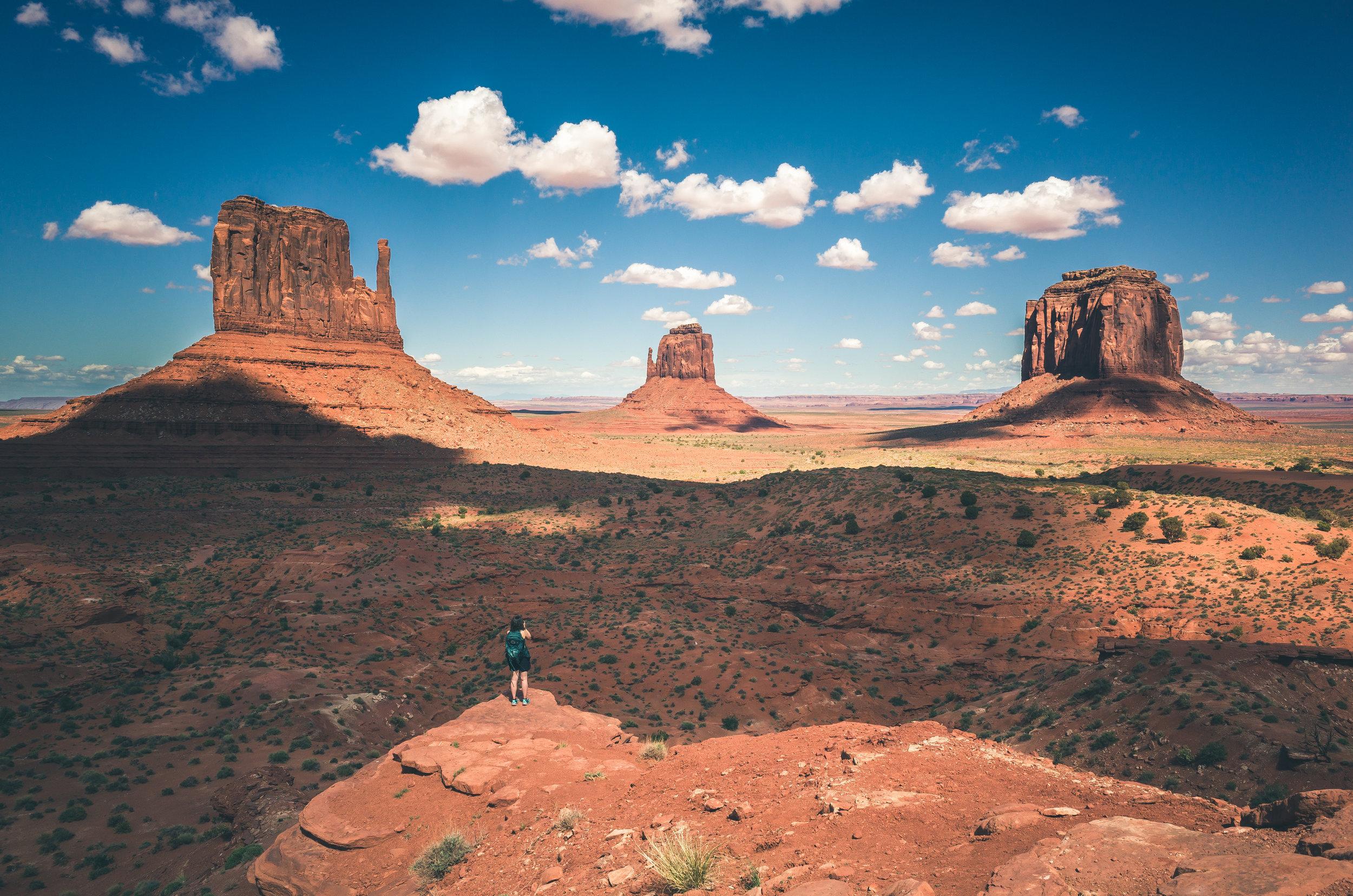 Monument Valley - Conoceremos Monument Valley, una zona de la tribu Navajo.