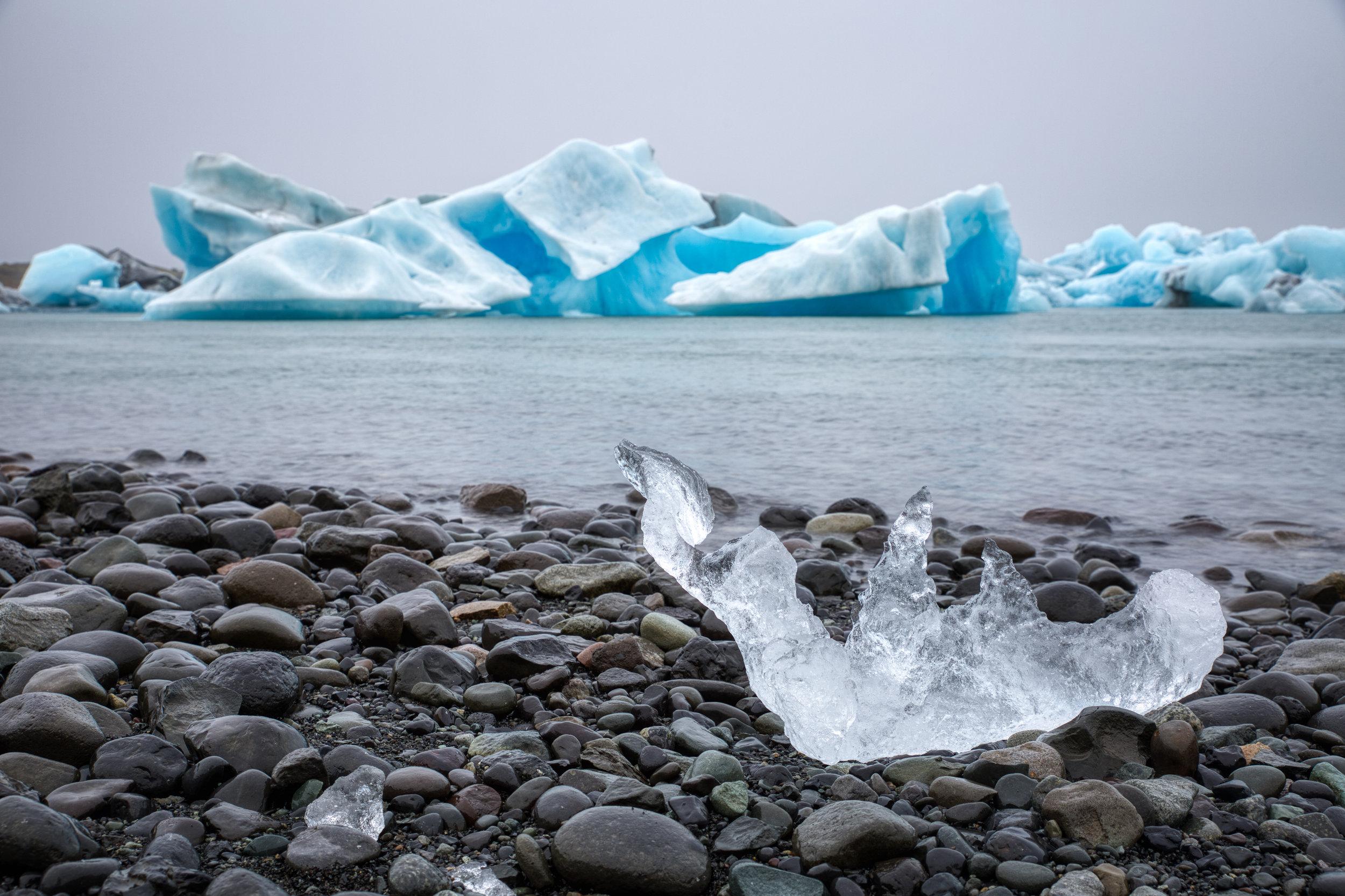 Jokulsarlon - Laguna glaciar en donde veremos enormes icebergs.