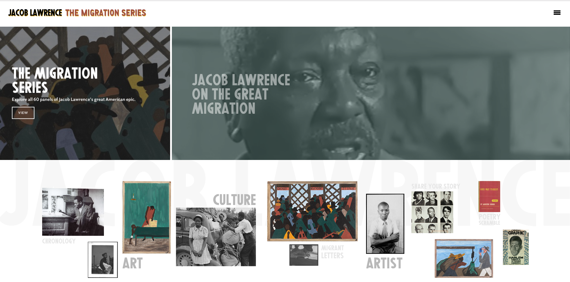 Phillips Collection | Jacob Lawrence: The Migration Series