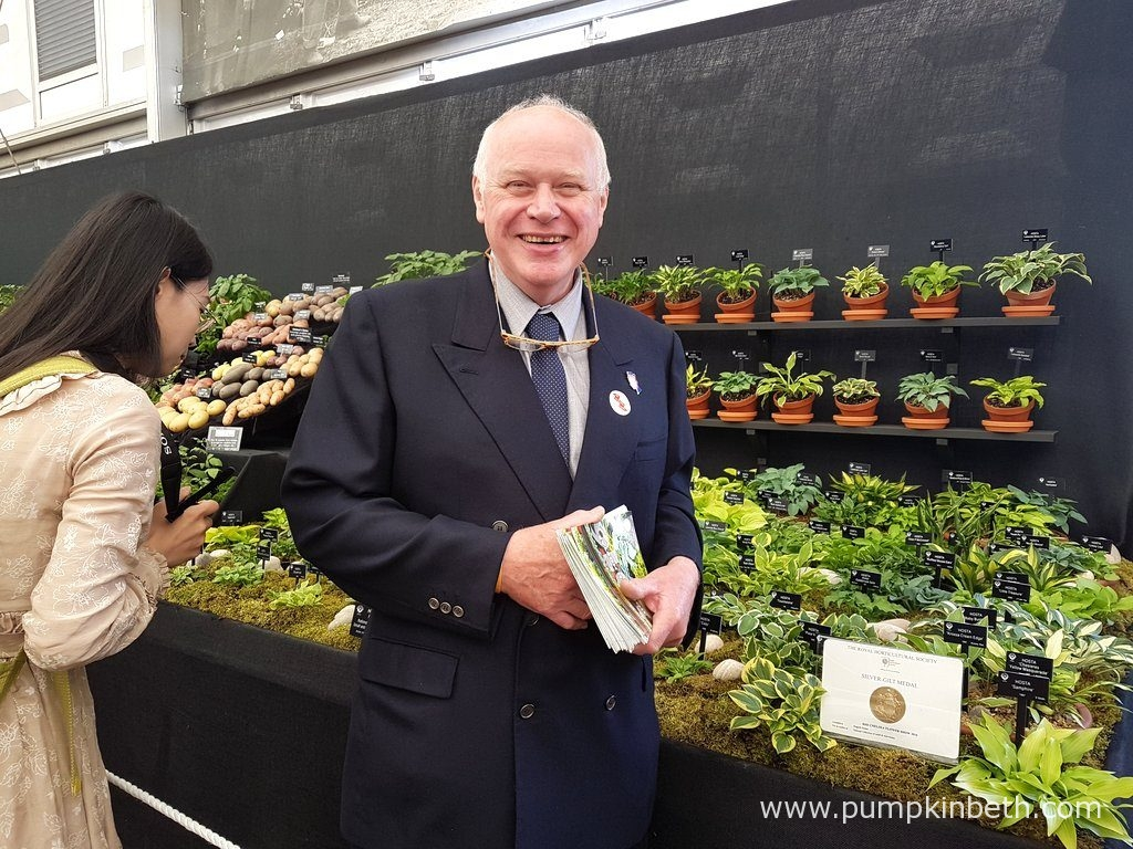 Jonathan and his 2017 Chelsea Flower Show award