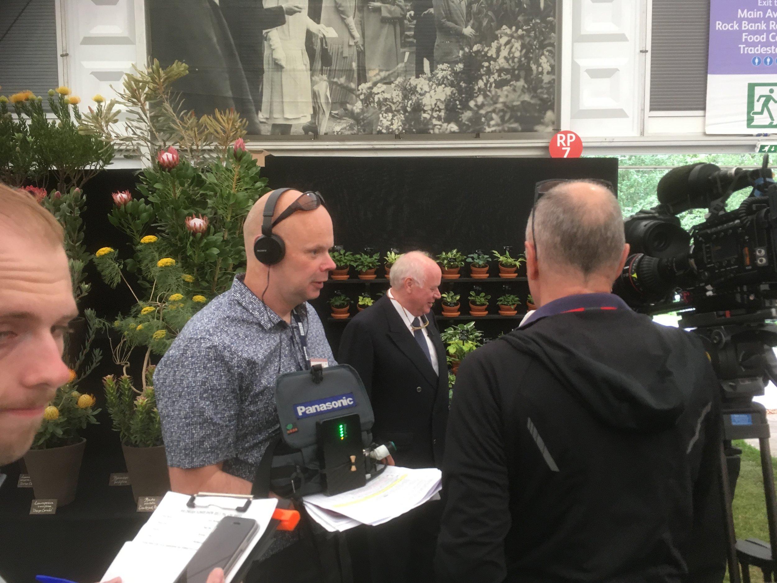 Jonathan and the BBC Film Crew