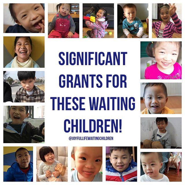 Journey of a Joyful Life is providing grants for qualifying families up to HALF OF THE COST of adoptions for our waiting children.  NOW is the time to run to these kids. They have waited so long and God is providing ways for them to get home... will you take the first leap of faith and start the process?  #JoyfulLifeWaitingChildren #Adopt
