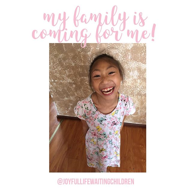 We'd like to shout a huge CONGRATULATIONS to Tia's forever family for receiving pre-approval. Thank you for advocating so hard for our precious waiting children. Please continue to pray for Tia's family, that they would have a smooth process and bring her home quickly!  #OrphanNoMore #ChinaAdoption #JoyfulLifeWaitingChildren