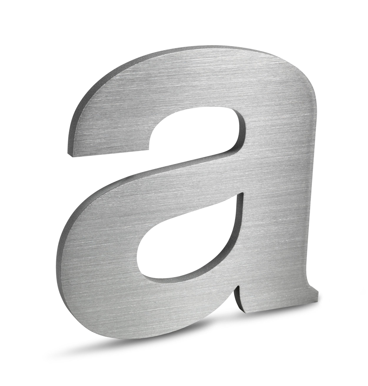 Solid Cut Aluminum Satinbrite Lacquer