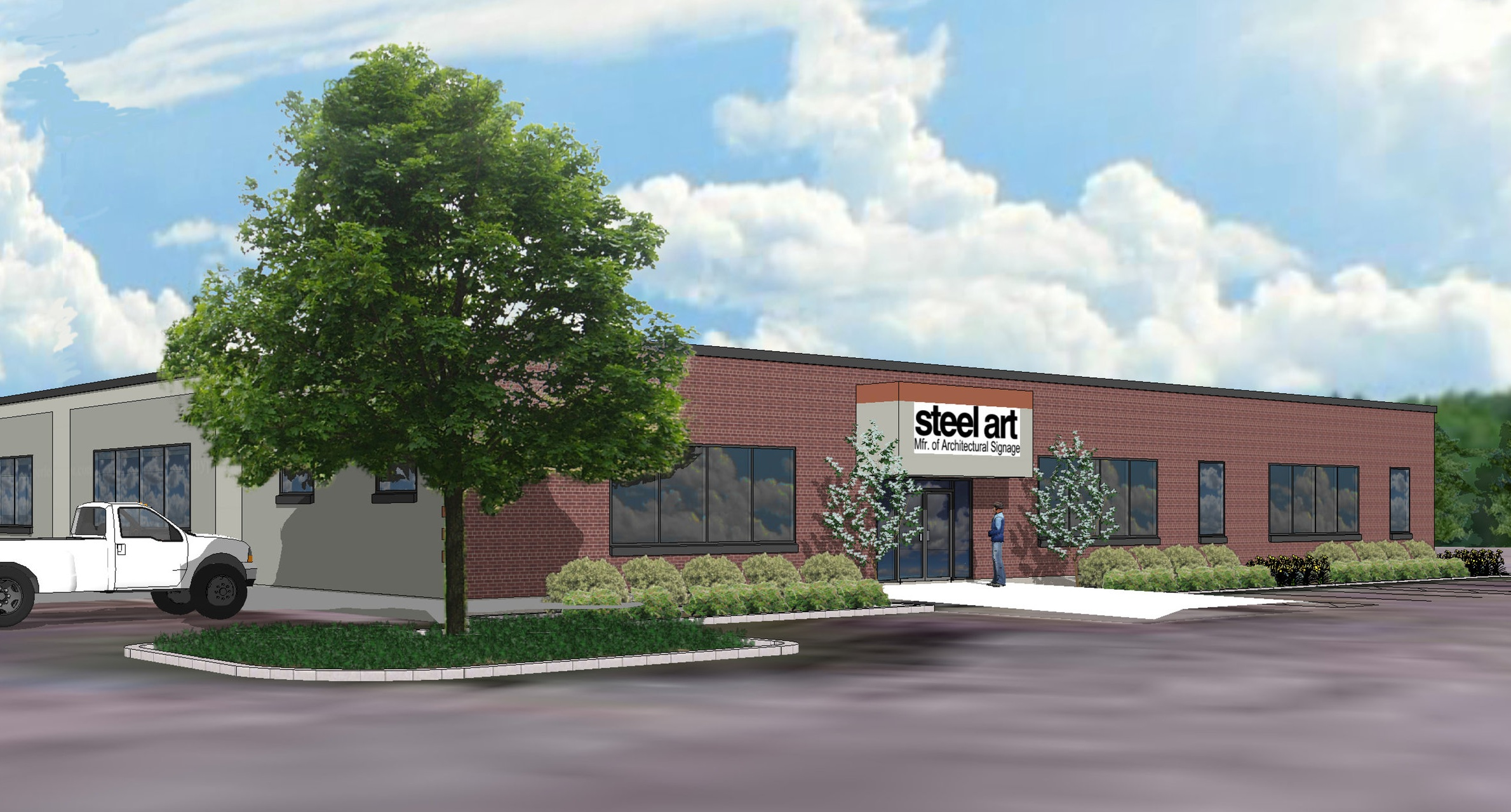 Steel Art's state-of-the-art manufacturing facility in Norwood, Massachusetts