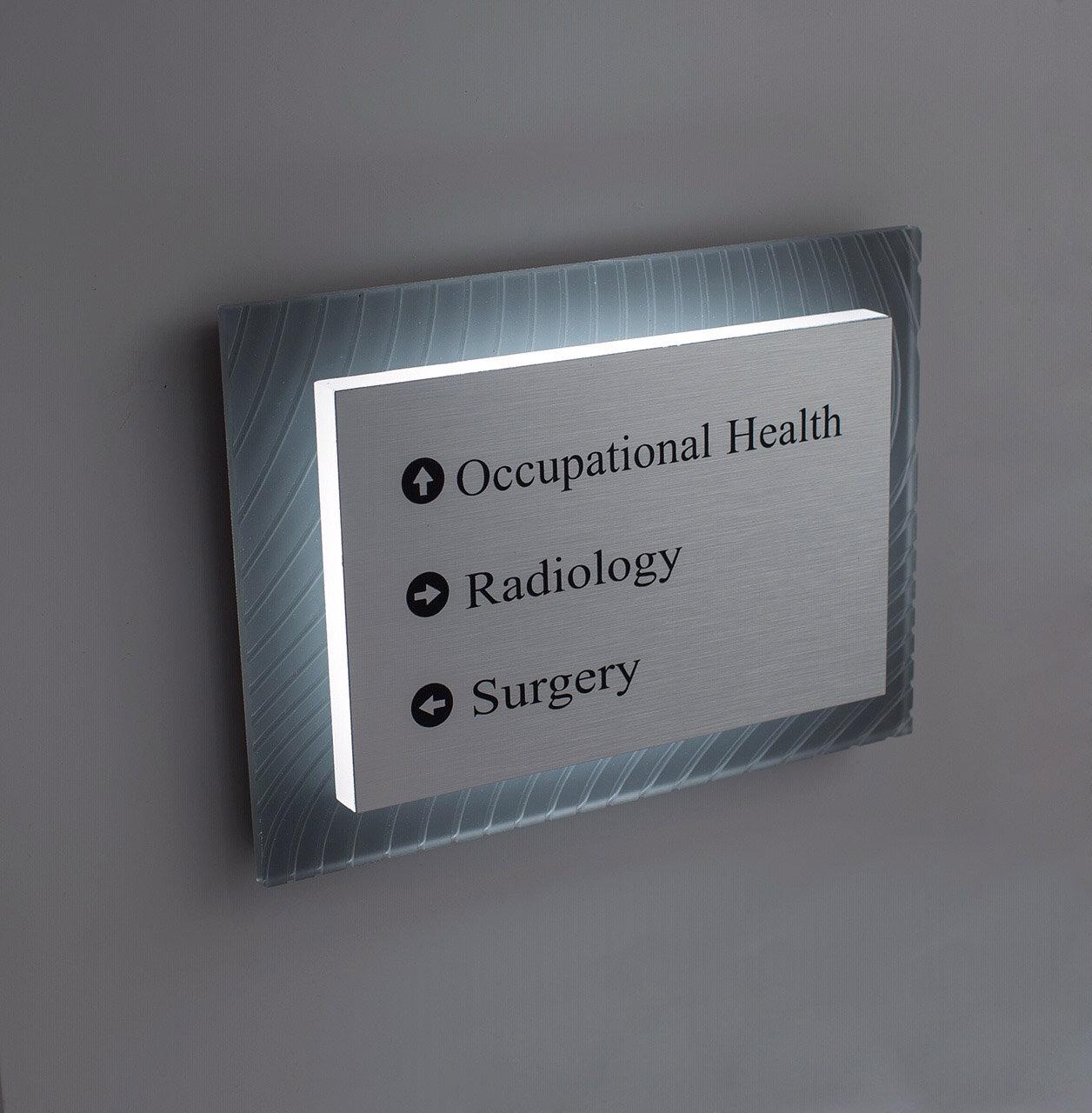 hospital signage light engine steel art.jpg