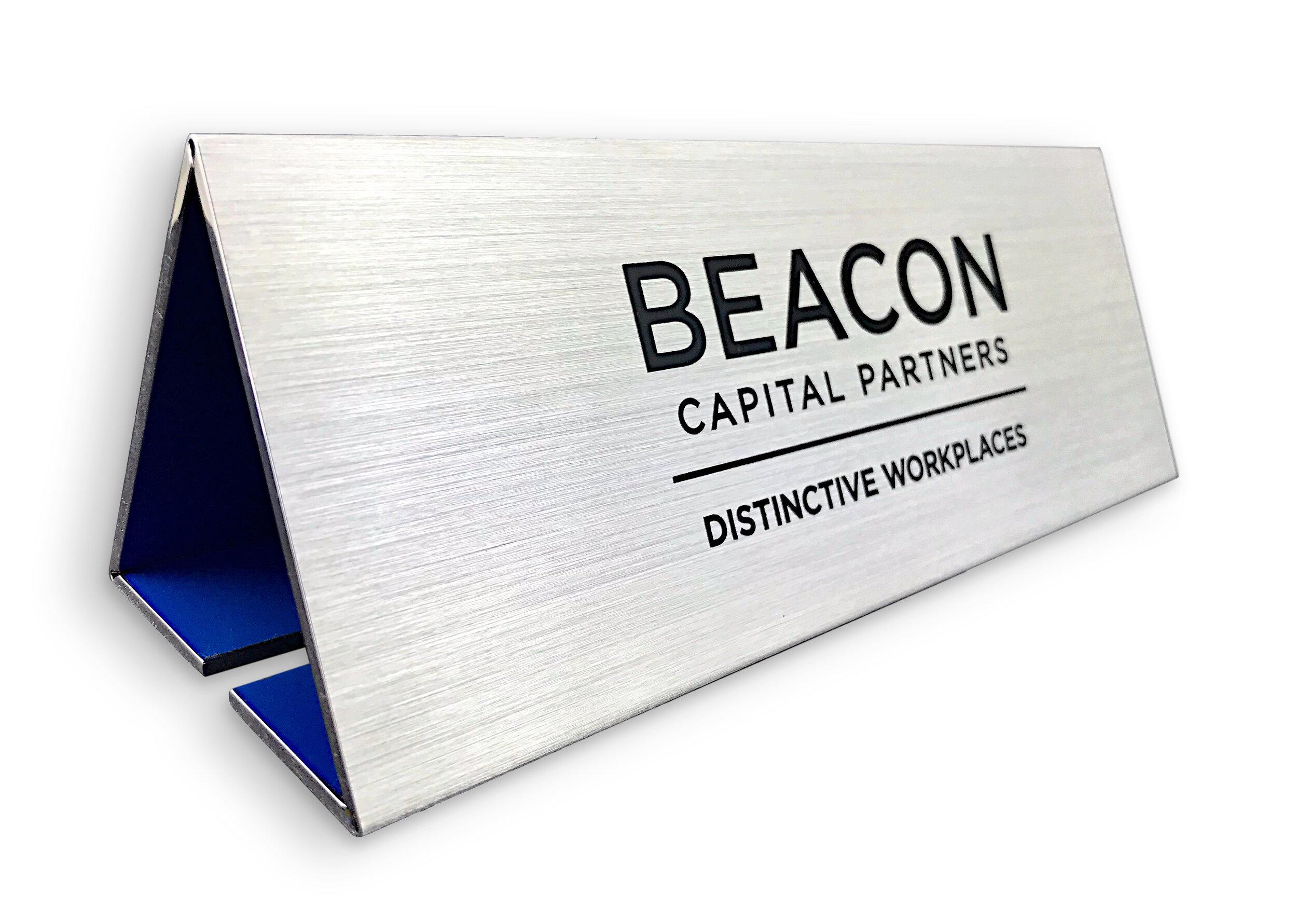 Etching Beacon Capital Sign.jpg