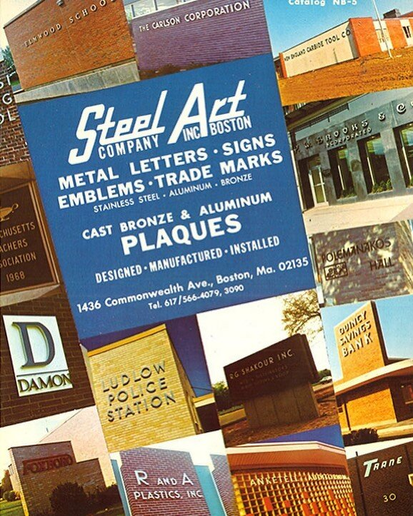Old School Marketing flyer from Steel Art Company. In business since 1952!! Third generation family-owned business bringing you the best quality architectural sign product direct to the trade! ????============================ For all your #wholesale signage needs, let us at @steelartco get to work for you today!====================================== ==================================================================================== @designcommltd  @archdigest  @northeastsignassociation @midwestsignassociation @midsouthsignassociation  @isasigns  @signsofthetimesmag @gensler_design @architectural.digest  @wsa @northeaststatessignassociation====================================== ==================================================================================== #led #isa #innovation #stainlessfabrication #powdercoating #facelit #channelletters #steelart #lookclose #illumination #wholesale #signtrade ##isa #innovation #lasercutting #fabricated #nssa #platecutting #LED #Thintrim #wholesale #northeaststatessignassociation