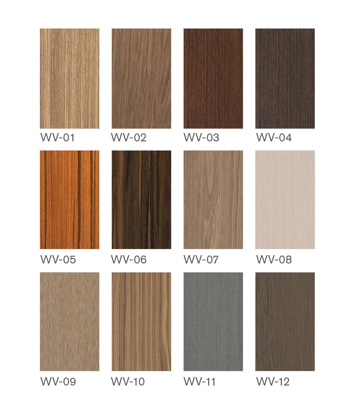 Real wood veneer