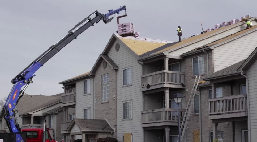 Commercial Roofing - We offer complete roofing services for multi-family and commercial projects.