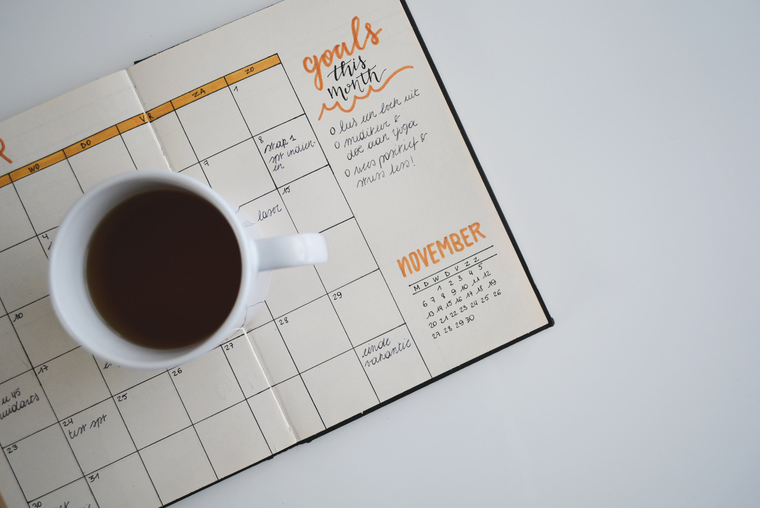 Planning and setting goals for your life