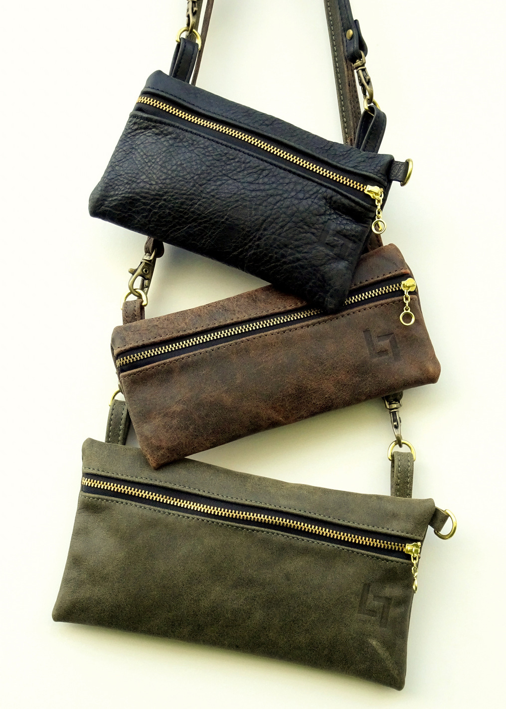 1-Handcrafted Leather Shoulder Bag, The Minimalist, LaPlace Leather, Memphis Tennessee-1-2.JPG