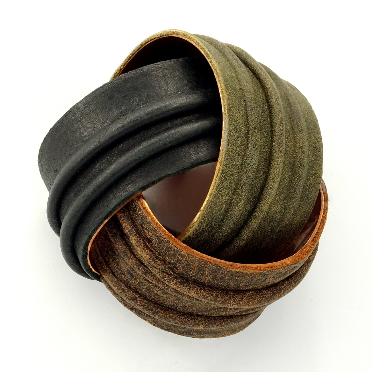 1-Hancrafted Leather Cuff Bracelets, LaPlace Leather, Memphis TN.JPG
