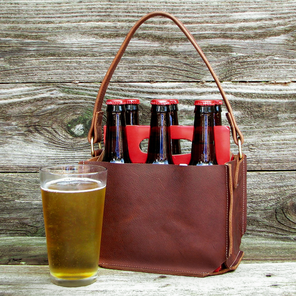 04-Handcrafted Leather Beer Tote, LaPlace Leather, Memphis-1-2.jpg