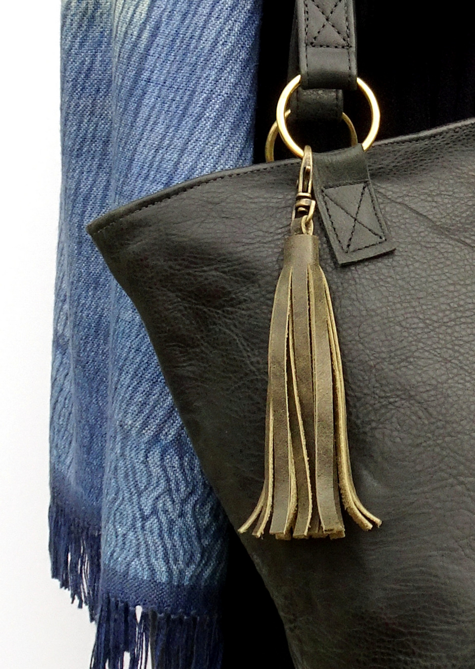 1-Handcrafted Leather Tassel Accessory, LaPlace Leather, TN-002.JPG