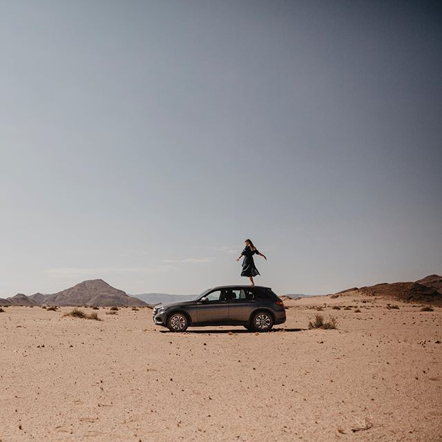 Last year Namibia with @dennisvogtfilm and @mercedesbenz @shesmercedes #mercedes #shesmercedes