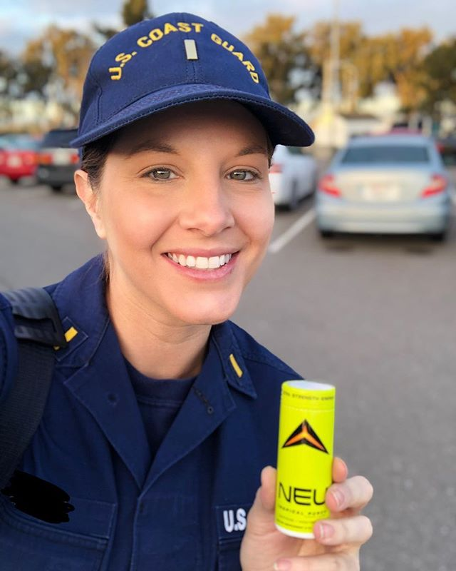 Protecting our amazing country 🇺🇸 ...one bottle at a time! Thank you to the hardworking men and women in the U.S Coast Guard ⚓️! #coastguard #drinkneu #havetheadvantage #uscoastguard #tropicalpunch #neuappreciation #neu