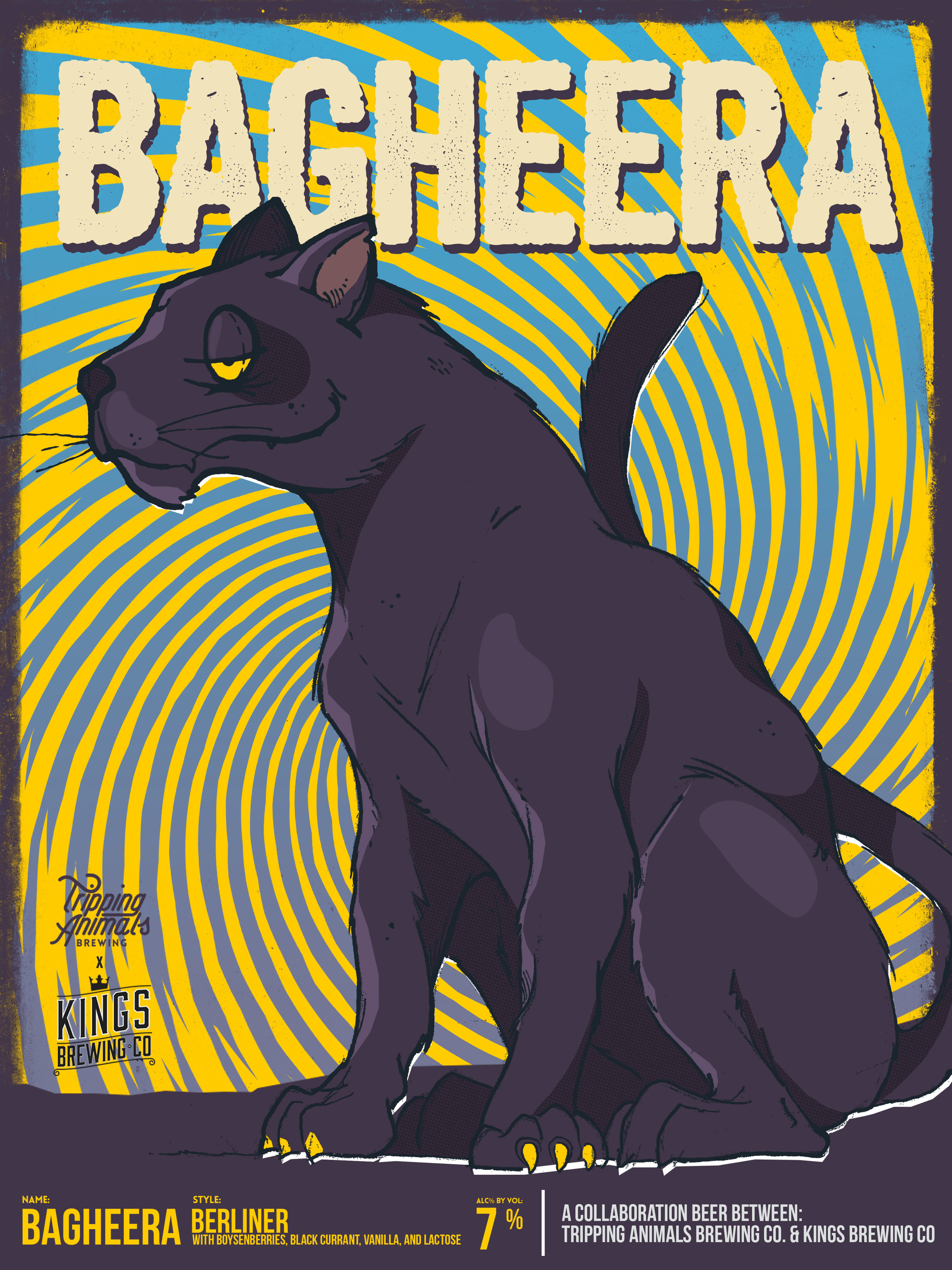 Bagheera / Collab with Kings Brewing Co.