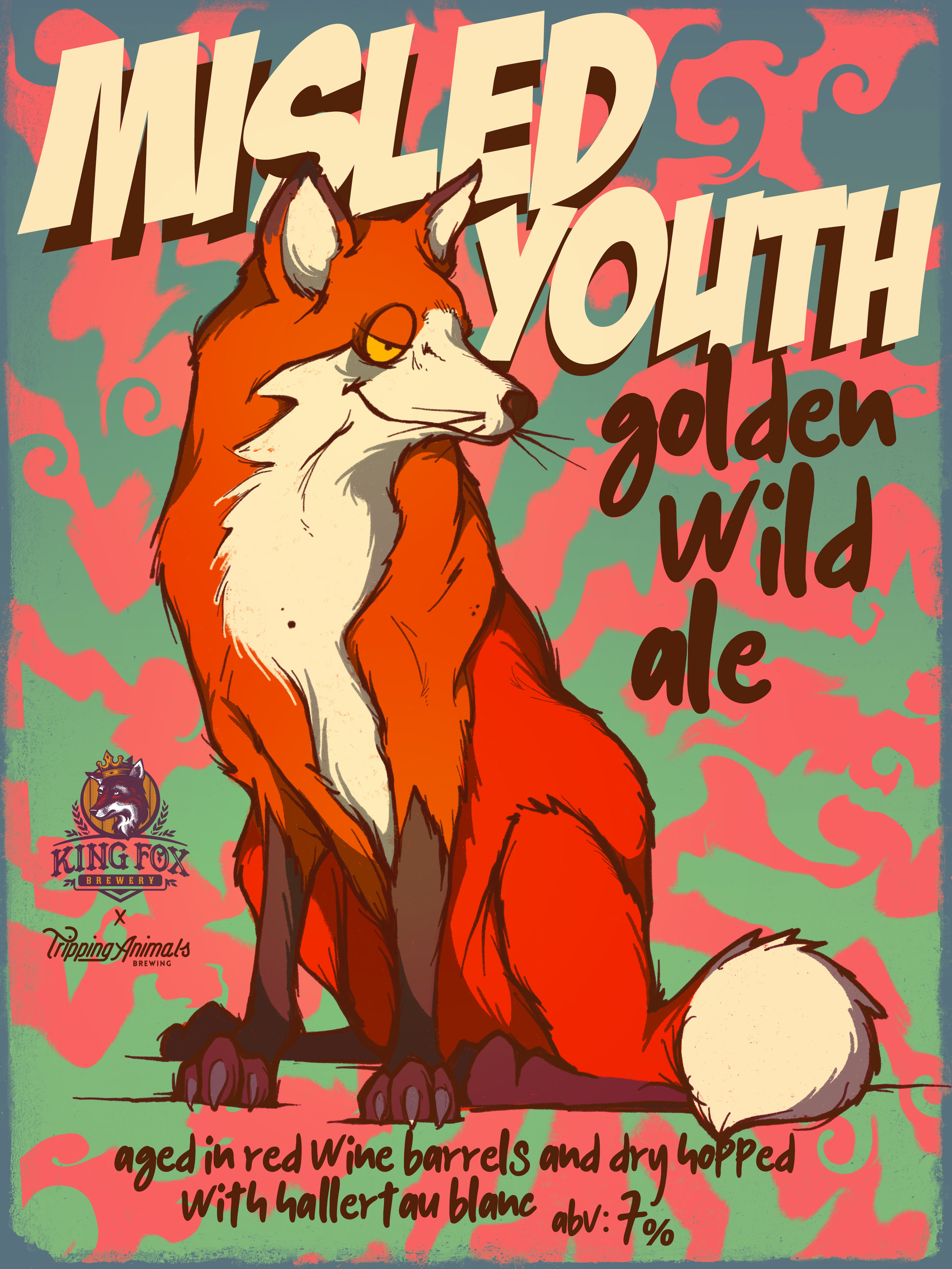 Misled Youth/ Collab with King Fox Brewery