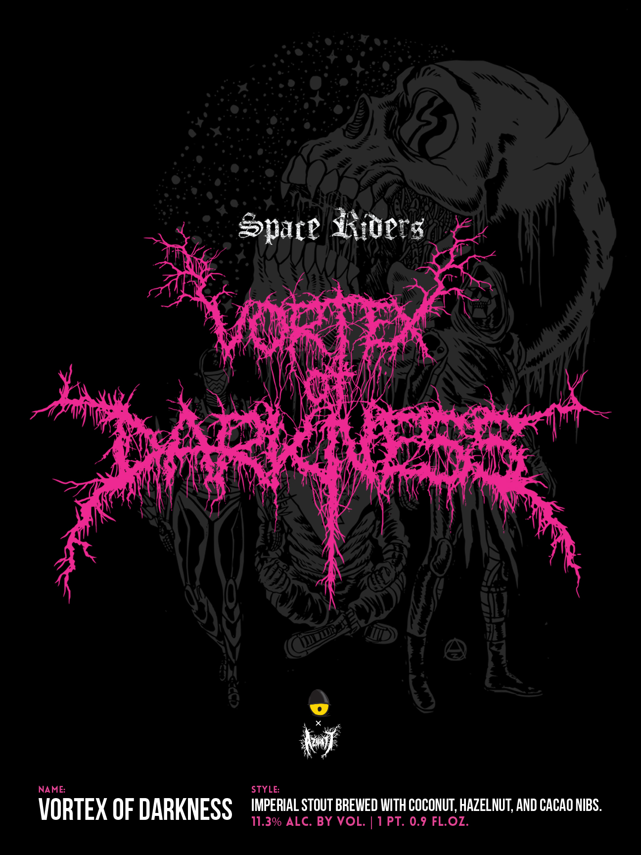 Vortex Of Darkness Collab w/ Alexis Ziritt