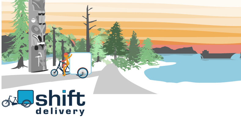 Shift Delivery Services - Shift Delivery is a worker owned co-op located in East Vancouver that specializes in last mile delivery.Do you need help with logistics? Want to reduce your carbon footprint? Write or give us a call.info@shiftdelivery.ca | Phone: (604) 445-4391