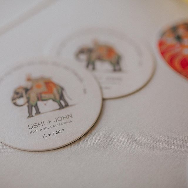 People are still using our wedding coasters 2 years later. These little details make a lasting impression. If you need some for your next event, click on the link in the profile to get in touch!