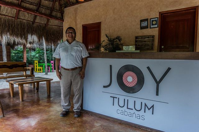 Meet Alfredo, your host during your stay at #JoyTulum. Alfredo, like the rest of the team, strives every day so that you have the most pleasant stay possible. #EnJoyTulum #Tulum #HappyFriday . . . . . . #instagood #Travelgram #travel #travelers #trip #adventure #summer #picoftheday #followme #photooftheday #beautiful #happy #travellife #travelphoto #travelpics #travelholic #travelbag #backpackers #travelblog #backpacking #roamtheplanet #trip #adventure #picoftheday #wanderlust