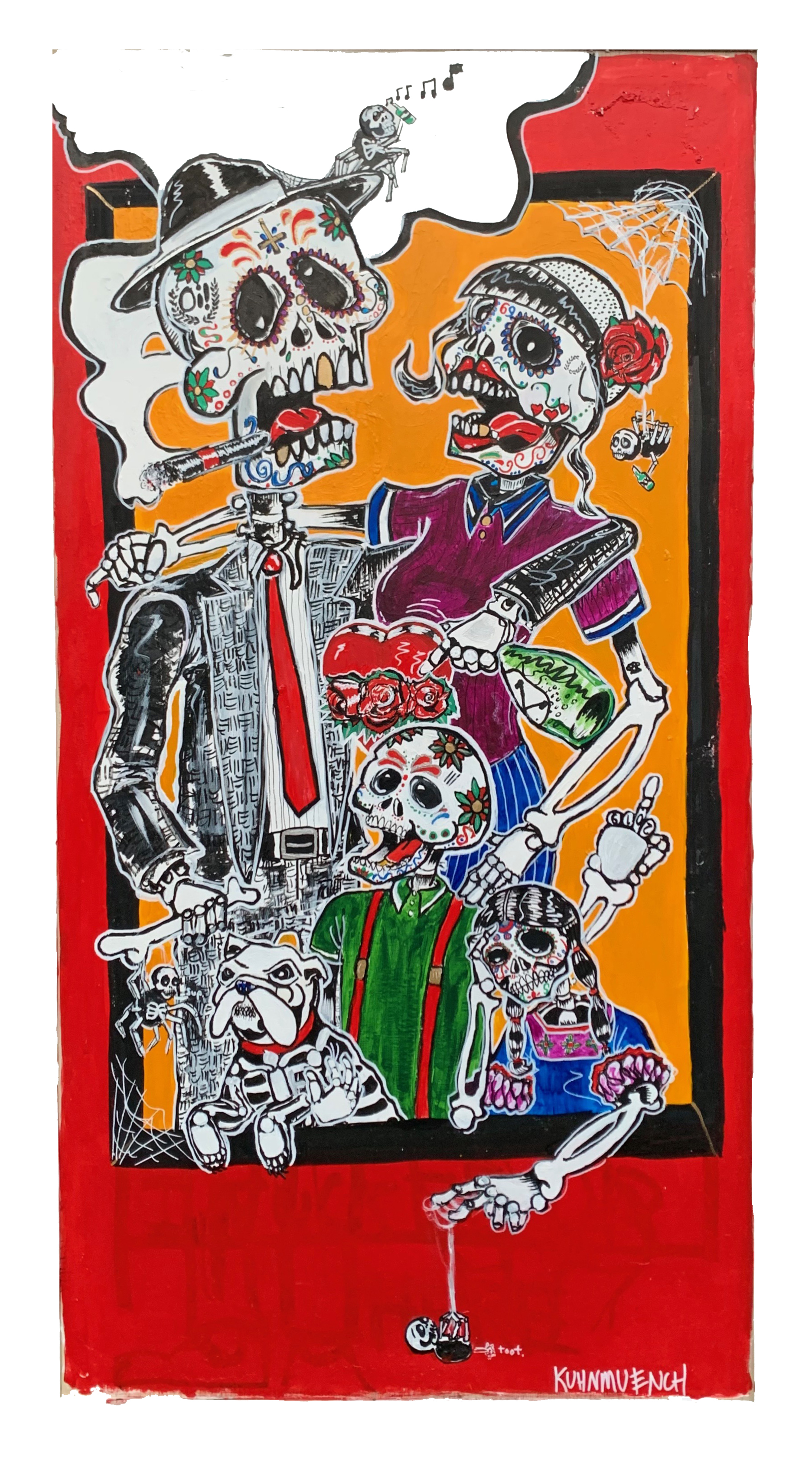 Day of the Dead Skinheads