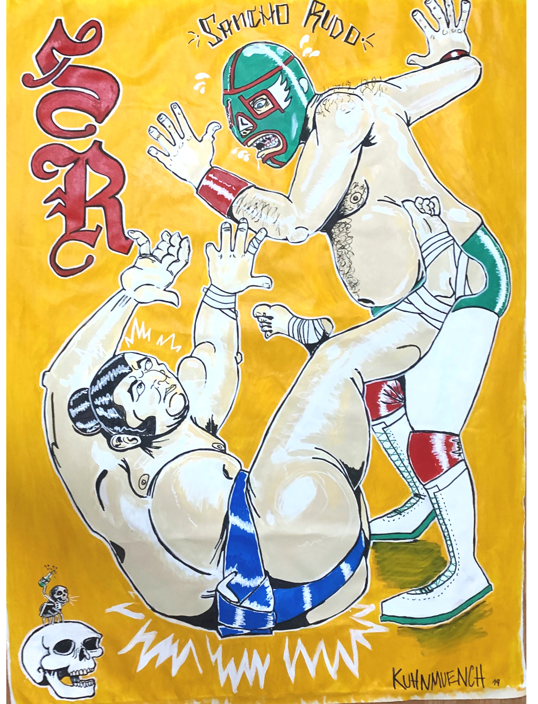Sancho Rudo vs Sumo