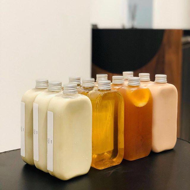 Our moTEAvation to get thru the week: endless bottles of milk teas, fruit teas & more!