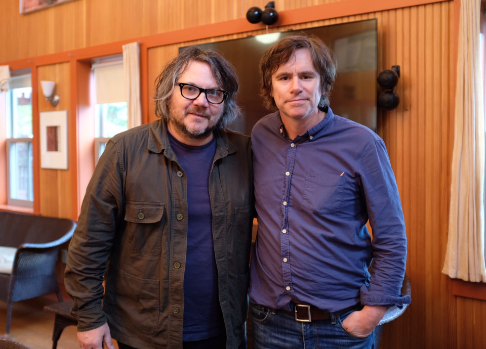 Johnny Irion & Jeff Tweedy at Solid Sound Festival