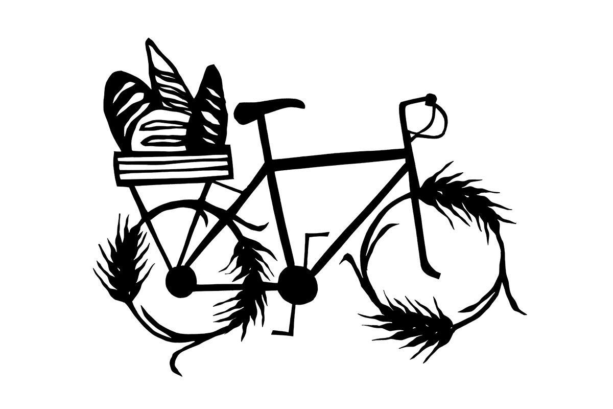 Bakery Bicycle Papercut by Anna Brones.jpg