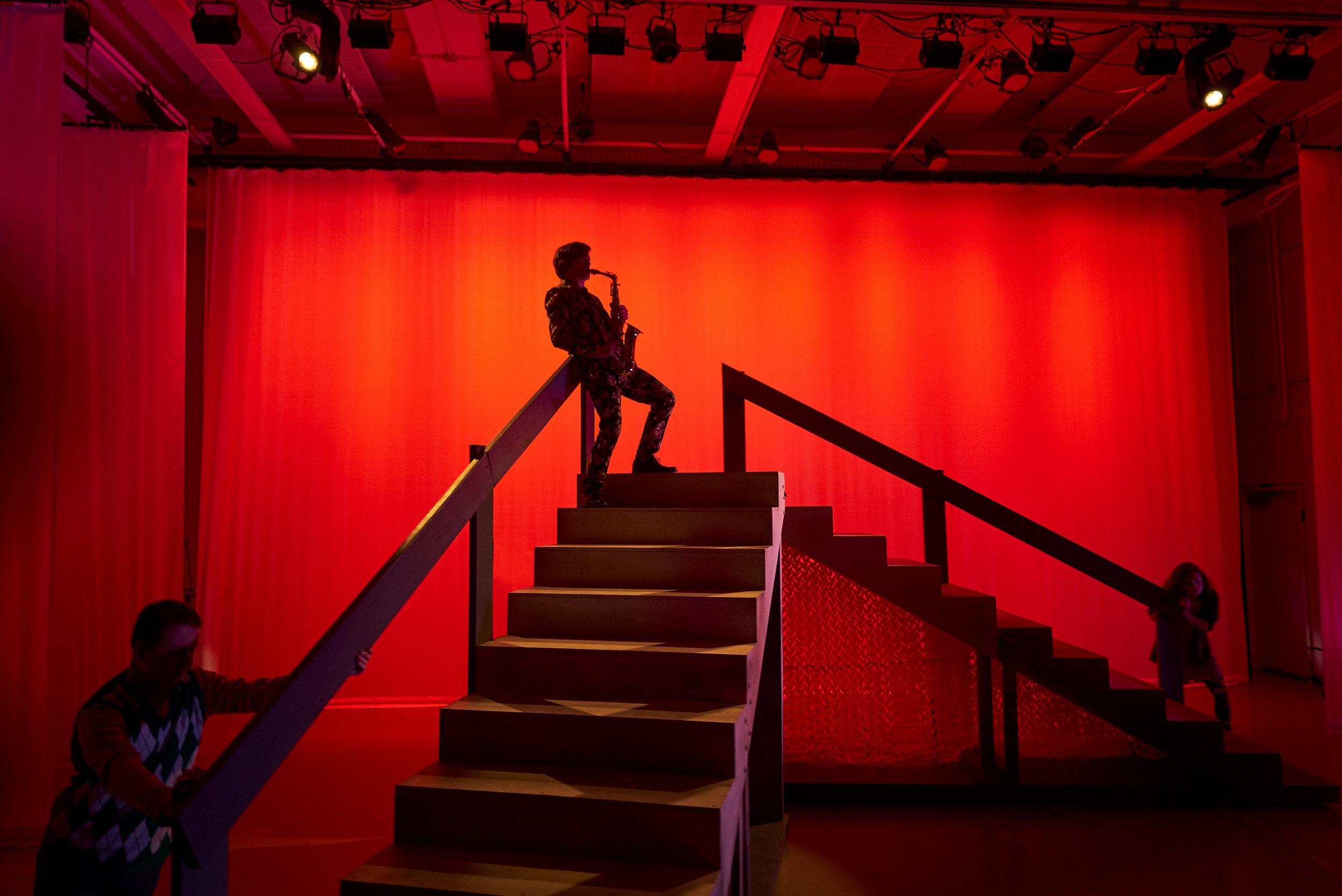 Finn Jones as Orsino in the SYT Summer Ensemble production of TWELFTH NIGHT (2018)  Photo: Logan Verdoorn