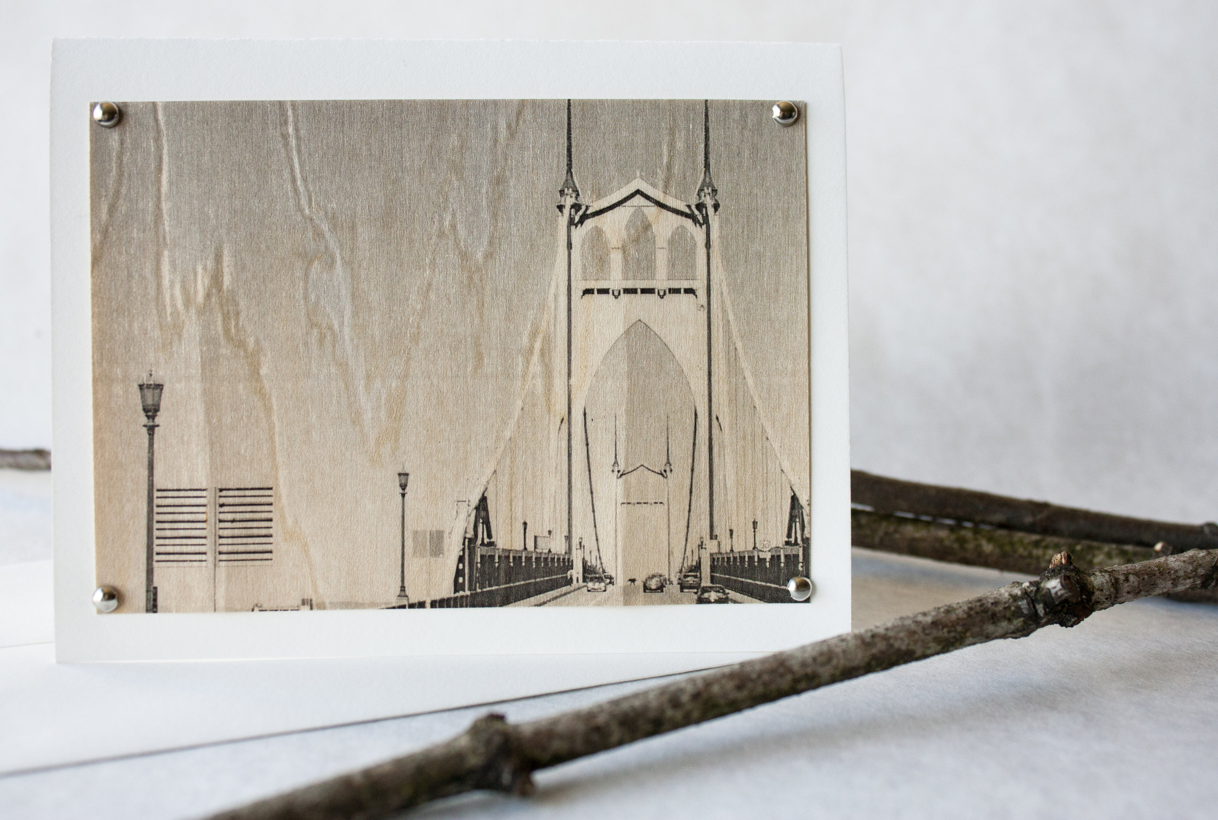 Bridgetown Greeting Card