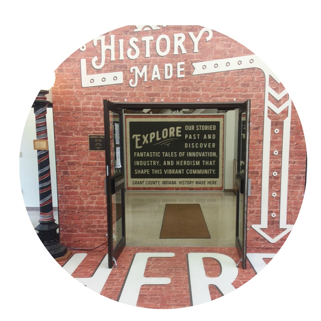 Grant County Museum - a public museum that preserves the history of Marion and Grant County through exhibits and artifacts.