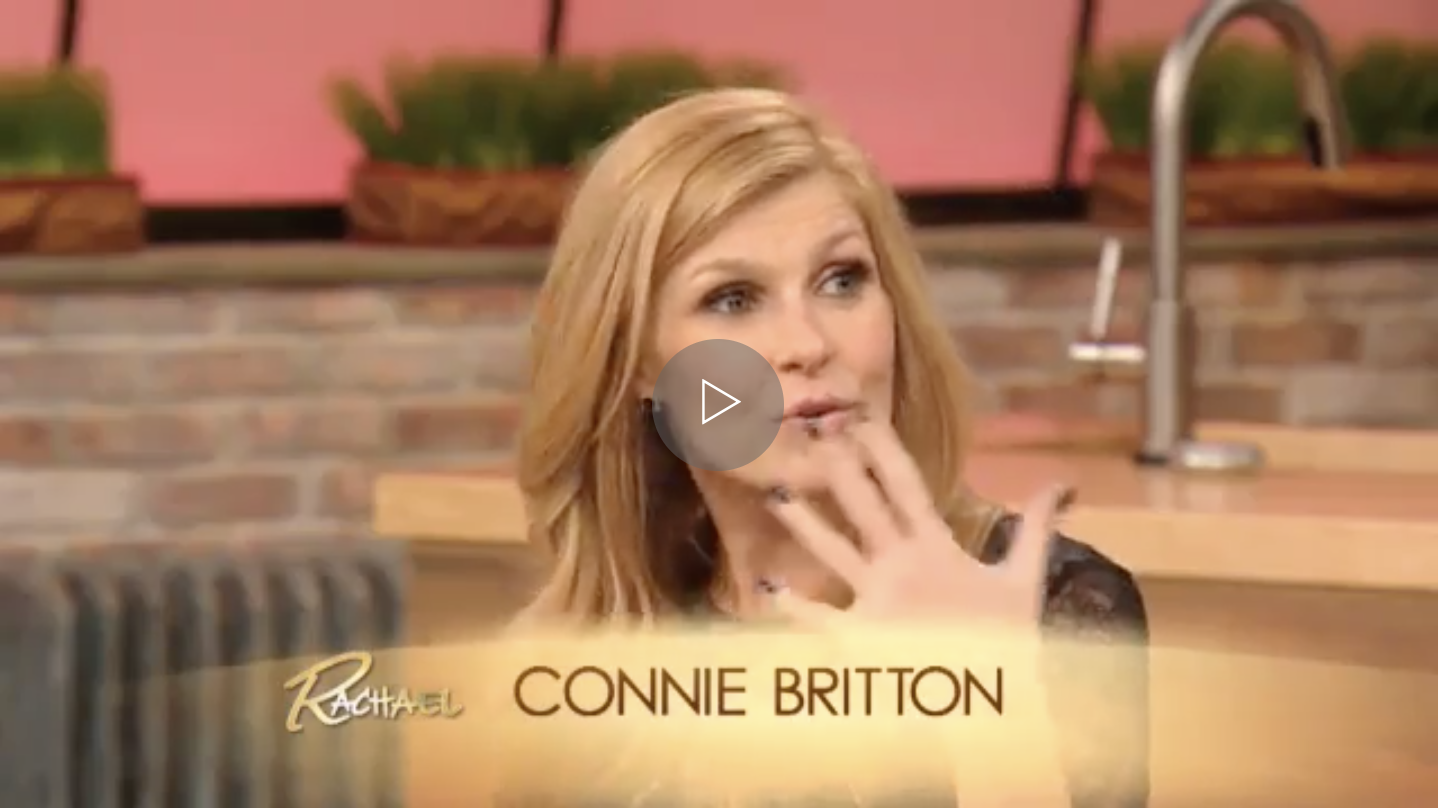 Thank you so much to  Nashville's  Connie Britton for the shout-out on the  Rachael Ray Show  on December 3rd!