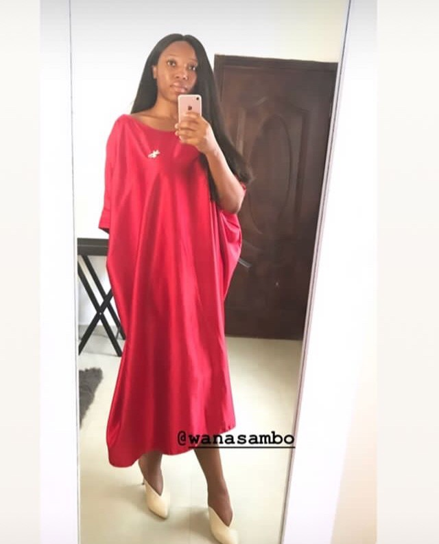 @oketms seen in the Bubu Dress