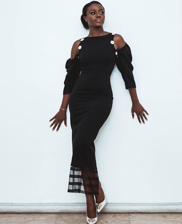 @yolandaokereke seen in the Debby dress