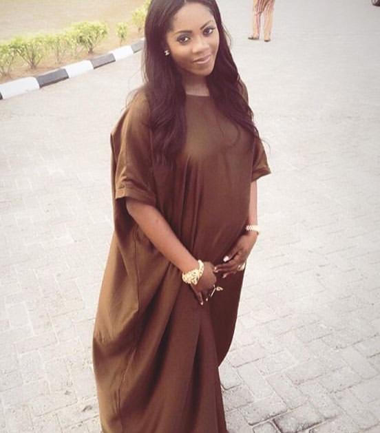 @tiwasavage seen in the BUBU Dress