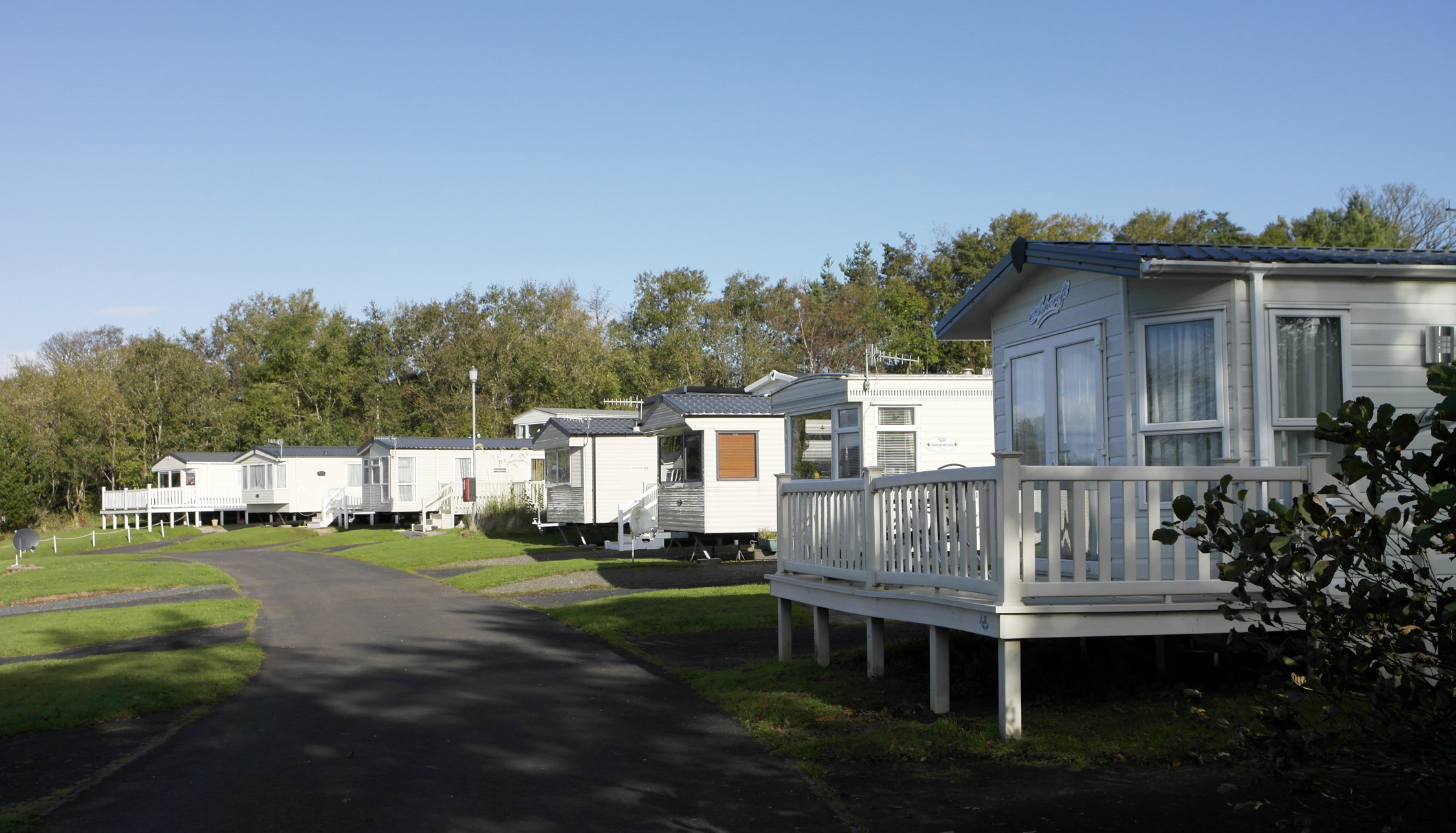 Caravan Holidays - at Wemyss Bay Holiday Park
