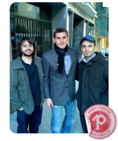 El mejor portero del mundo con Iker e Iñaki