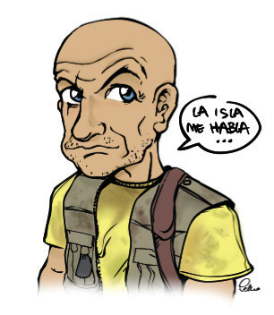 Locke (bueno, un dibujo que intenta parecerse)