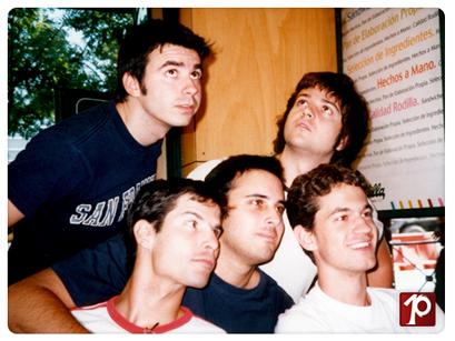 Mike, Juan, Larry, Pedro y Edu