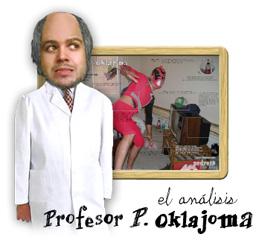 Observa el estudio del profesor P. Oklajoma