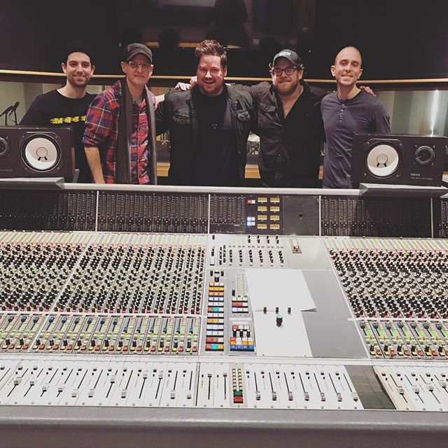"""Still completely floored at how these guys absolutely killed it in the studio at @oceanwaynashville a couple days ago!! """"BETTER MAN"""" is coming! Can't wait!! Get ready! . . . . #jonmullins #betterman #music #love #nashville #singersongwriter #tennessee #singer #guitar #studio"""