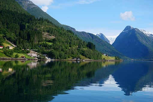 The beautiful landscape of Norway!